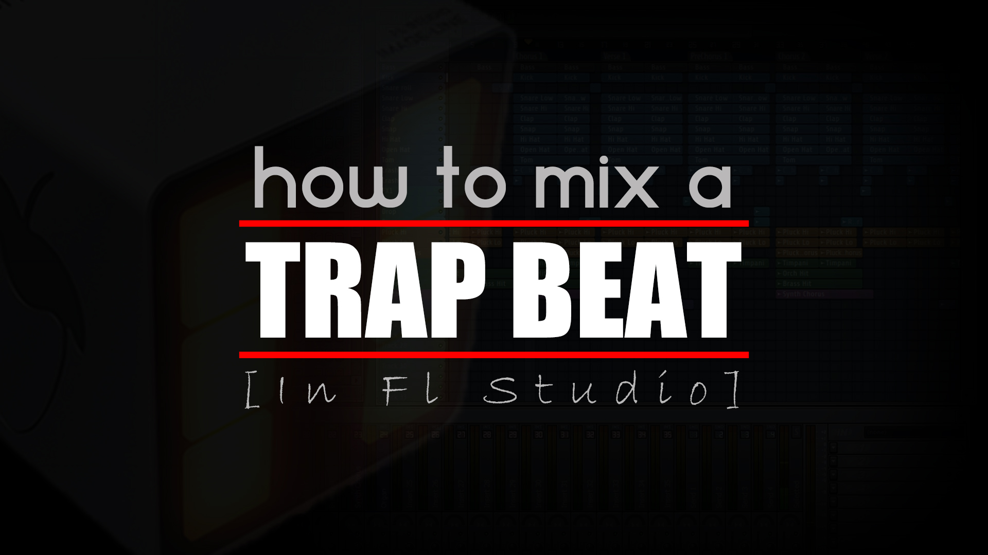 How to Mix a Trap Beat