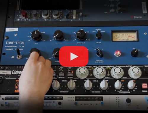Mixing 808s on Analog Gear